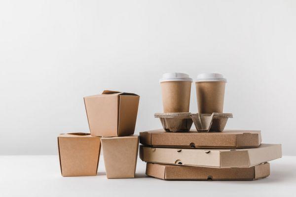 Características de las cajas para alimentos