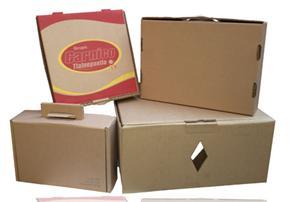 Caja de cartón para carne