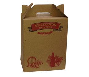 Caja de cartón para Vinos